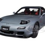 Mazda RX-7(FD) Spirit R Type A Titanium Grey Metallic 1/18 Diecast Car Model by Autoart