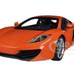 Mclaren MP4-12C Orange 1/18 Diecast Car Model by Autoart