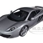 Mclaren MP4-12C Silver 1/18 Diecast Car Model by Autoart