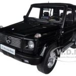 1998 Mercedes G500 G Class SWB Black 1/18 Diecast Car Model by Autoart