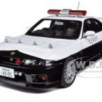 Nissan Skyline GT-R (R33) Japanese Police Car 1/18 Diecast Model Car by Autoart