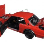 Nissan Skyline GT-R (KPGC10) Tuned Version Red 1/18 Diecast Model Car by Autoart
