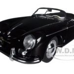 Porsche 356A Speedster European Version Black 1/18 Diecast Car Model by Autoart