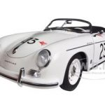 Porsche 356 Speedster White #23F 1/18 Diecast Car Model by Autoart