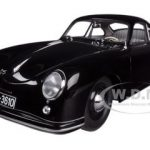 Porsche 356 Coupe Black 1/18 Diecast Car Model by Autoart
