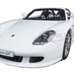 Porsche Carrera GT White 1/18 Diecast Model Car by Autoart