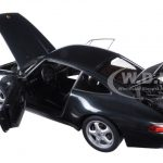 1995 Porsche Carrera  911 993 Green Metallic 1/18 Diecast Model Car by Autoart