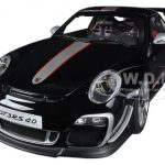 Porsche 911 (997) GT3 RS 4.0 Black 1/18 Diecast Car Model by Autoart