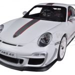 Porsche 911 (997) GT3 RS 4.0 White 1/18 Diecast Car Model by Autoart