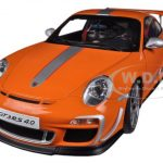 Porsche 911 (997) GT3 RS 4.0 Orange 1/18 Diecast Car Model by Autoart