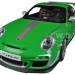Porsche 911 (997) GT3 RS 4.0 Green 1/18 Diecast Car Model by Autoart
