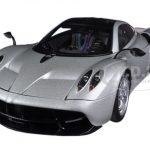 Pagani Huayra Silver 1/18 Diecast Car Model by Autoart