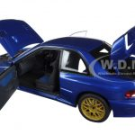 Subaru Impreza 22B Blue (Upgraded Version) 1/18 Diecast Model Car by Autoart