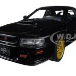 Subaru Impreza 22B Black (Upgraded Version) Limited Edition to 1500pcs 1/18 Diecast Model Car by Autoart