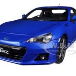Subaru BR-Z WR Blue Mica 1/18 Diecast Car Model by Autoart