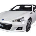 Subaru BR-Z White 1/18 Diecast Car Model by Autoart