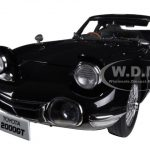 Toyota 2000 GT Coupe Upgraded Black 1/18 Diecast Car Model by Autoart