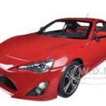 Toyota 86 GT European Version LHD Red 1/18 Diecast Car Model by Autoart
