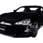 Scion FR-S North American Version Left Hand Drive Black Silica 1/18 Diecast Model Car by Autoart