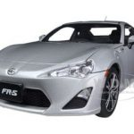 Scion FR-S North American Version Left Hand Drive Silver Metallic 1/18 Diecast Model Car by Autoart
