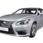 Lexus LS600hL Sonic Silver 1/18 Diecast Car Model by Autoart