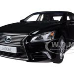 Lexus LS600hL Black 1/18 Diecast Car Model by Autoart