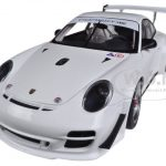 2010 Porsche 911 (997) GT3 R Plain Body White 1/18 Diecast Car Model by Autoart