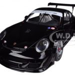 2010 Porsche 911 (997) GT3 R Plain Body Black 1/18 Diecast Car Model by Autoart