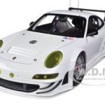 2010 Porsche 911 (997) GT3 RSR Plain Body Version White 1/18 Diecast Model Car by Autoart