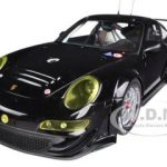 2010 Porsche 911(997) GT3 RSR Plain Body Version Black 1/18 Diecast Car Model by Autoart