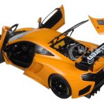 Mclaren 12C GT3 Presentation Car Metallic Orange 1/18 Diecast Model Car by Autoart