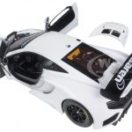 Mclaren 12C GT3 White 1/18 Diecast Model Car by Autoart