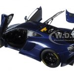 Mclaren 12C GT3 Azure Blue 1/18 Diecast Model Car by Autoart