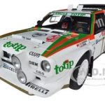 Lancia S4 #8 Rally San Remo 1986 Cerrato/Cerri Totip 1/18 Diecast Car Model by Autoart