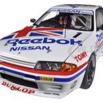 Nissan Skyline GT-R (R32) Group A 1990 Reebok #1 1/18 Diecast Car Model by Autoart