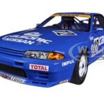 Nissan Skyline GT-R (R32) Group A 1990 Calsonic #12 1/18 Diecast Car Model by Autoart