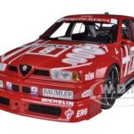 Alfa Romeo 155 V6 TI DTM 1993 Larini #8 Zolder Winner / Series Champion 1/18 Diecast Model Car by Autoart