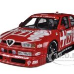 Alfa Romeo155 V6 TI DTM 1993 Nannini #7 HockenIheim Winner 1/18 Diecast Model Car by Autoart