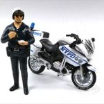 Police Officer Figure (Standing No Bike) For 1:18 Scale Diecast Models by American Diorama