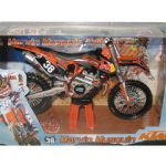 2012 Red Bull KTM 250 SX-F Marvin Musquin #38 Dirt Motorcycle Model 1/12 by Automaxx