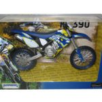 2012 Husaberg FE 390 Dirt Motorcycle Model 1/12 by Automaxx