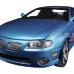 2004 Pontiac GTO Blue Car & Driver Bermuda Blue With Black InteriorLimited to 1250pc Worldwide 1/18 Diecast Model Car by Autoworld