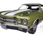 1970 Chevrolet Chevelle SS 454 Citrus Green  Limited to 1500pc  1/18 Diecast Model Car by Autoworld