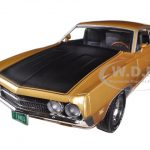 1970 Ford Torino Cobra 429 4V Bright Gold Poly Code K 1/18 Limited to 1250pc by Autoworld