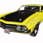 1970 Ford Torino Cobra 429 CJ Hemmings Bright Yellow Limited Edition 1254pc 1/18 Diecast Car Model by Autoworld