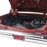 1966 Chevrolet Biscayne Coupe Bronze Limited Edition to 1002pc 1/18 Diecast Model Car by Autoworld