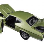 1969 Chevrolet Chevelle COPO 427 Frost Green Limited Edition to 1002pc 1/18 Diecast Model Car by Autoworld
