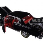 1965 Chevrolet Chevelle SS 396 Z-16 Black 50th Engine Anniversary Limited Edition to 1002pcs 1/18 Diecast Model Car by Autoworld