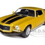 1971 Chevrolet Camaro Z/28 Placer Gold 1/18 Diecast Car Model by Autoworld