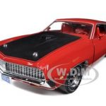 1970 Ford Torino GT Cobra Medium Red Limited Edition to 1250 Worldwide 1/18 Diecast Model Car by Autoworld